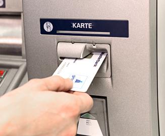 Mit Geldkarte Bezahlen